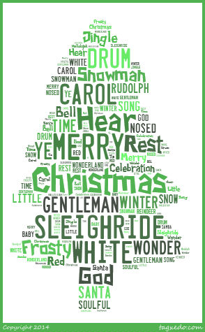 xmas wordle tree